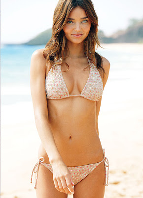 VICTORIA'S SECRET SUPERMODEL MIRANDA KERR WORKOUT