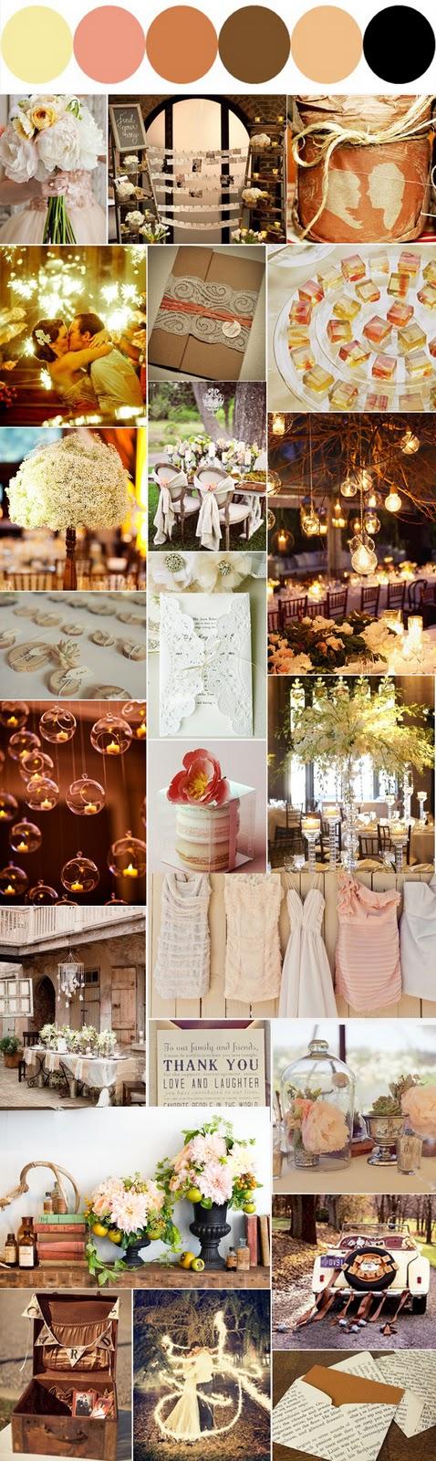 Dan and Britt\'s Wedding Colors   A Bit of Bees Knees
