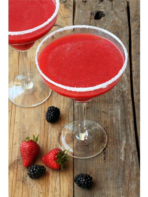 Blackberry Strawberry Margarita