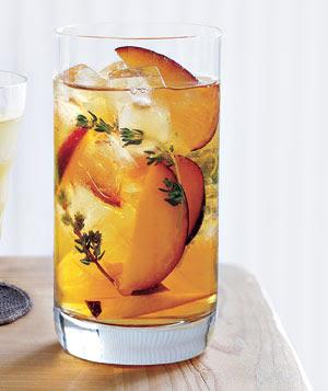 Plum + Thyme Iced Tea