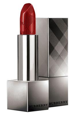 burberry lip satin lipstick No.17 union red