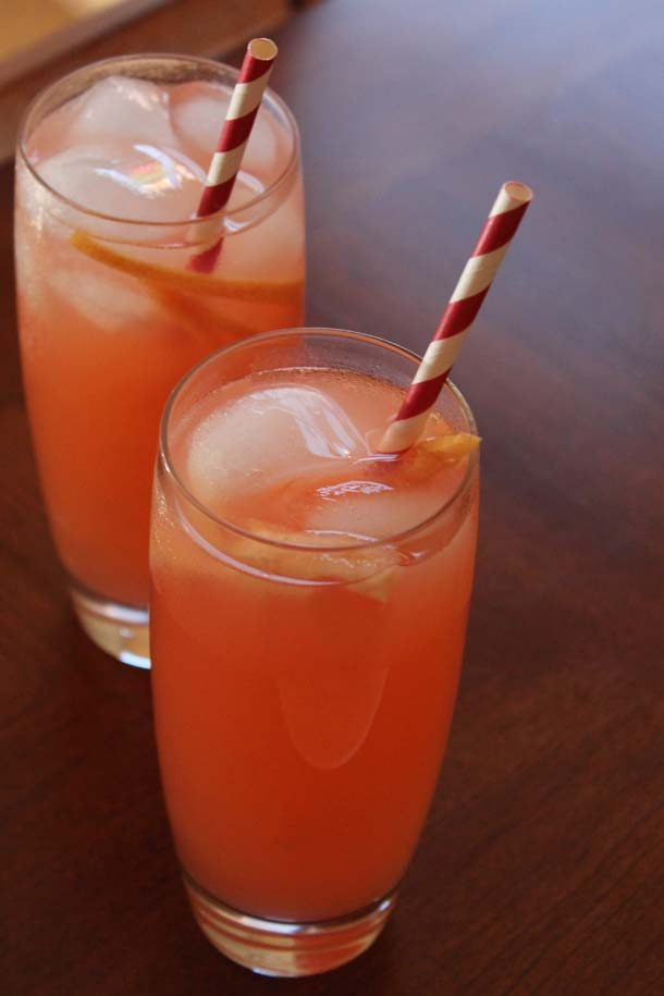 Guava Grapefruit Summer Cocktail