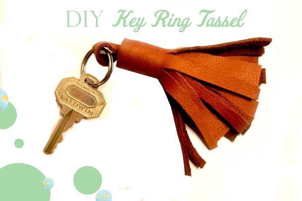 DIY Key Ring Tassel