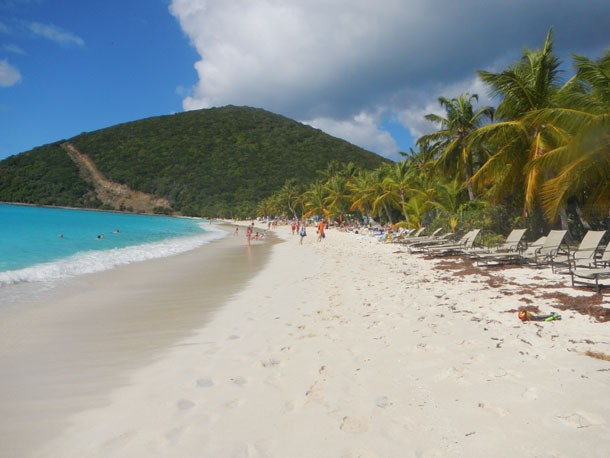 Sailing the British Virgin Islands | White Bay