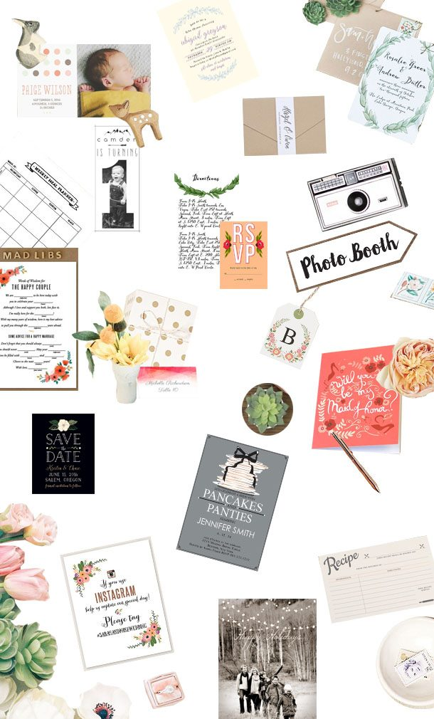 Basic Invites | A Bit of Bees Knees