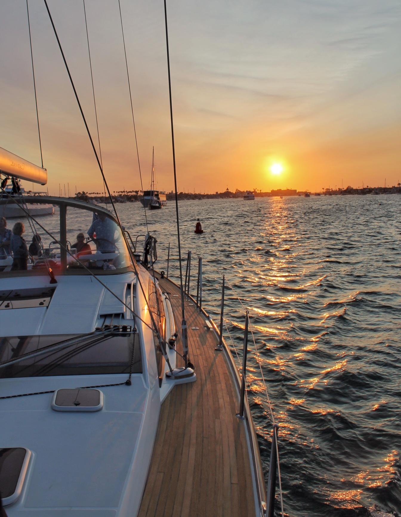 Sailing Newport Beach