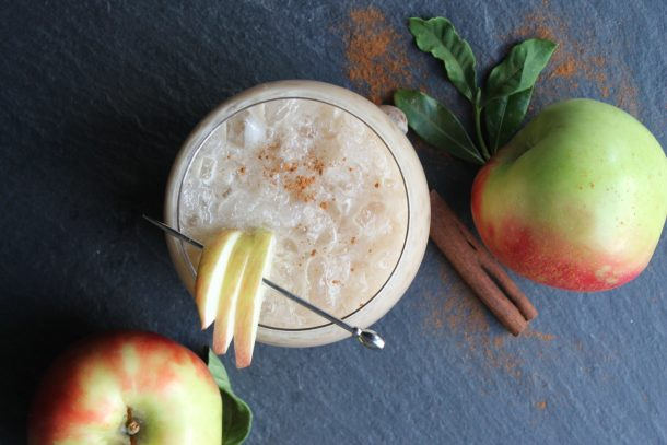 Apple Pecan Bourbon Cider