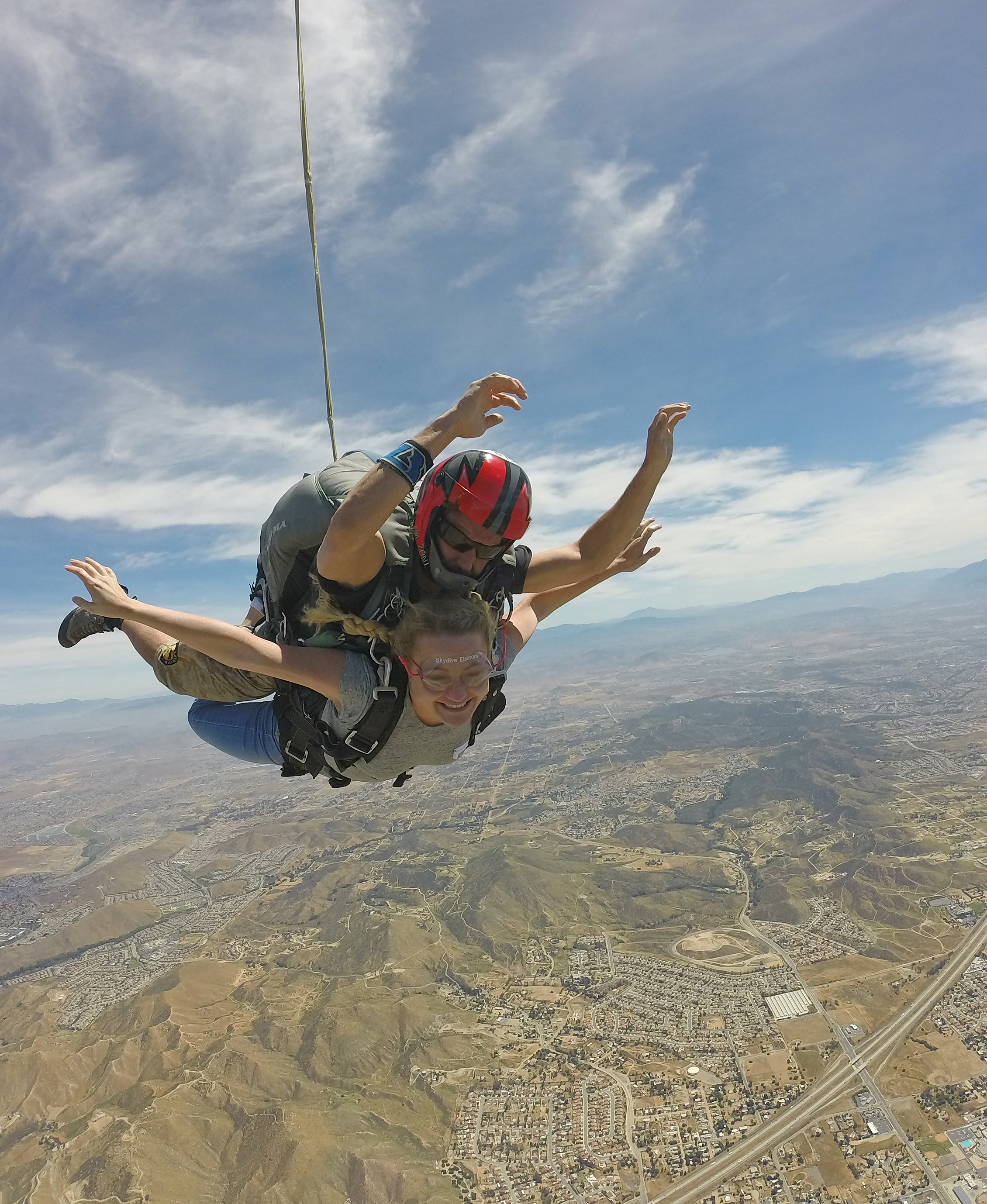 Taking a Leap at Skydive Elsinore [First Time Tandem